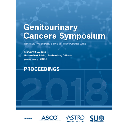 2018 Genitourinary Cancers Symposium Proceedings