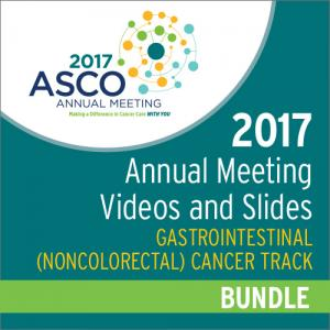 2017 Annual Meeting Videos & Slides: Gastrointestinal (Noncolorectal) Cancer Track Bundle