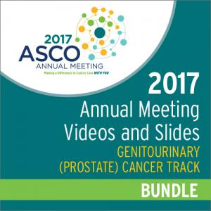 2017 Annual Meeting Videos & Slides: Genitourinary (Prostate) Cancer Track Bundle
