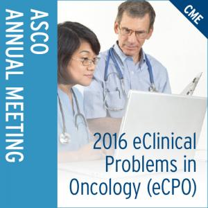 2016 eClinical Problems in Oncology