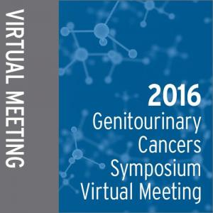 2016 Genitourinary Cancers Symposium Virtual Meeting