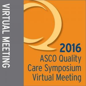2016 Quality Care Symposium Virtual Meeting