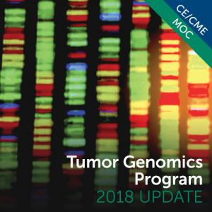 Tumor Genomics Program