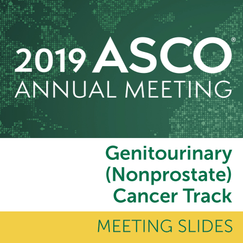 Track: 2019 Annual Meeting Slides: Genitourinary (Nonprostate) Cancer