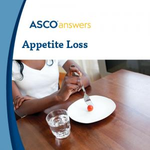 Appetite Loss Fact Sheet (pack of 125 fact sheets)