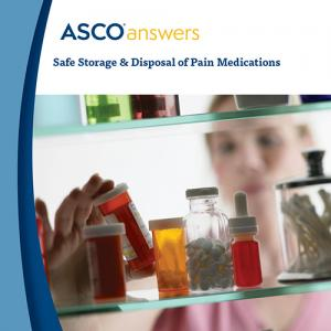 Safe Storage and Disposal of Pain Medications Fact Sheet (pack of 125 fact sheets)