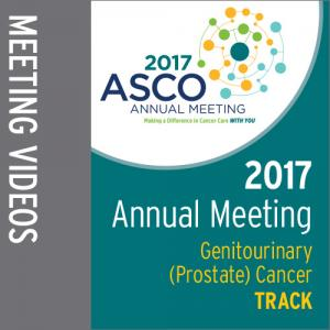 Track: 2017 Annual Meeting Video: Genitourinary (Prostate) Cancer