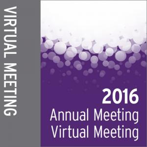 2016 Annual Meeting Virtual Meeting