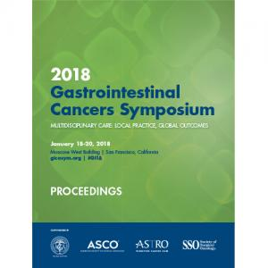 2018 Gastrointestinal Cancers Symposium Proceedings