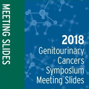 2018 Genitourinary Cancers Symposium Meeting Slides