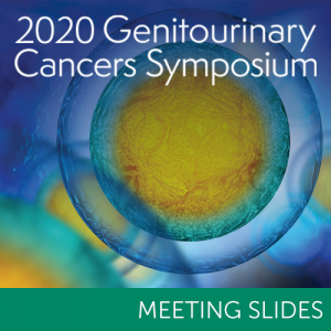2020 Genitourinary Cancers Symposium Slides