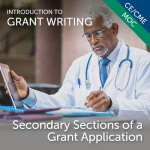 Secondary Sections of a Grant Application