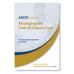 Managing the Cost of Cancer Care (pack of 125 booklets)