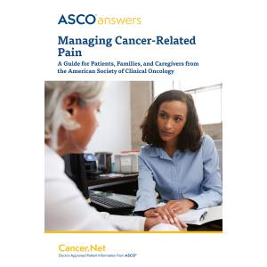 Managing Cancer-Related Pain (pack of 50 booklets)