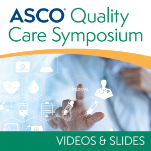 2018 Quality Care Symposium Video and Slide Bundle